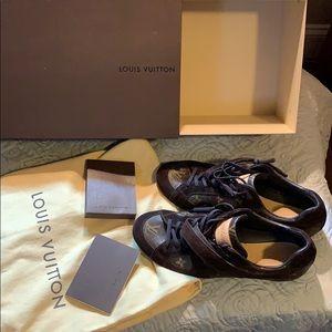 Authentic vintage Louis Vuitton men's sneakers